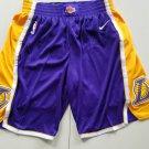 Mens Los Angeles Lakers Nike Icon Swingman Basketball Shorts – Purple