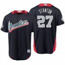 Men's American League 27 Giancarlo Stanton Navy 2018 All-Star Game Player Jersey