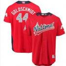 mens All Star Natinoals Men's #44 Paul Goldschmidt red Cool Base Jersey