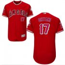 Men's Los Angeles Angels #17 Shohei Ohtani Jersey Red Flexbase Stitched