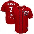 Men's Washington Nationals Trea Turner Scarlet All Star Cool Base Jersey
