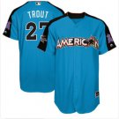 All-Star Men's American League #27 Mike Trout Baseball jersey stitched