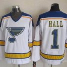 1 Glenn Hall Men's Hockey Jersey Stitched no