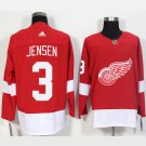 NHL Detroit Red Wings 3 Nick Jensen Home Red Jersey