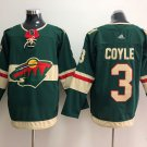 3 Charlie Coyle Men's Hockey Jersey Stitched