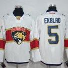 Swen Logo Florida Panthers 5 Aaron Ekblad White Jerseys