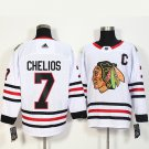 NHL Chicago Blackhawks 7 Chris Chelios Red,White Jersey