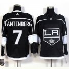 Los Angeles Kings #7 Oscar Fantenberg Home Black Jersey