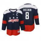 New Youth Washington Capitals #8 Alex Ovechkin Jersey