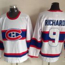 9 Maurice Richard Men's Hockey Jersey Stitched