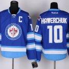 Men's New York Winnipeg 10 Dale Hawerchuk Blue Jersey