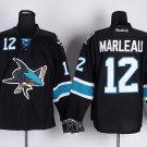 NHL Men's San Jose Sharks 12 Patrick Marleau Black erseys
