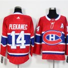14 Tomas Plekanec Men's Hockey Jersey Stitched
