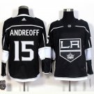 Angeles Kings #15 Andy Andreoff Home Black Jersey