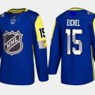 Atlantic Division #15 Jack Eichel Jersey All-Star Royal Blue