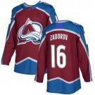 Colorado Avalanche #16 Nikita Zadorov Jersey Authentic Burgundy