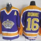 Los Angeles Kings #16 Marcel Dionne Purple  Jersey
