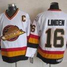 16 Trevor Linden Men's Hockey Jersey Stitched