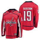 Washington Capitals #19 Nicklas Backstrom Red Jersey