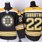 Boston Bruins 22 Shawn Thornton Black Jerseys