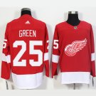 NHL Detroit Red Wings 25 Mike Green Home Red Jersey