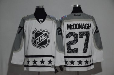 new style 455ac 0e832 Rangers 27 Ryan McDonagh White All Star Jerseys