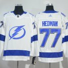 Men Tampa Bay Lightning 77# Victor Hedman Jersey White