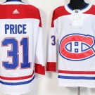 Men Montreal Canadiens 31# Carey Price Jersey White