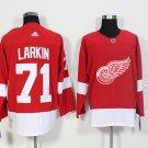 Men Detroit Red Wings 71# Dylan Larkin Jersey Red
