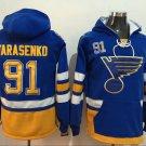 Men St. Louis Blues 91# Vladimir Tarasenko Jersey Blue