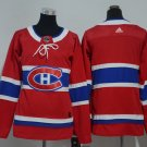 2018 Women Montreal Canadiens  Blank Jersey Red
