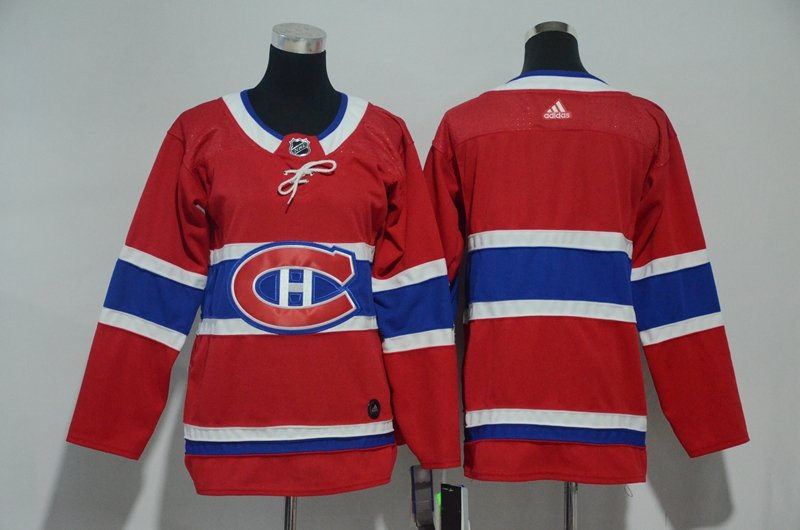 2018 Youth Montreal Canadiens Blank Jersey Red