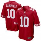 Youth San Francisco 49ers #10 Jimmy Garoppolo Red Cheap Football Jersey Red