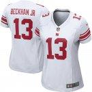 Women New York Giants 13# Odell Beckham Jr Jersey White