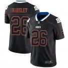 Men's New York Giants 26# Saquon Barkley Limited Jersey Black