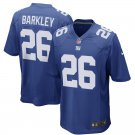 Men's New York Giants 26# Saquon Barkley Limited Jersey Blue