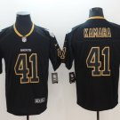 Men's New Orleans Saints 41# Alvin Kamara Limited Jersey Black