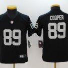 Youth Raiders 89# Amari Cooper Stitched Football jersey black