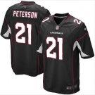 Men's Arizona Cardinals #21 Patrick Peterson game jersey black