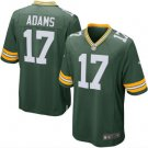 Men's Packers #17 Davante Adams game jersey green