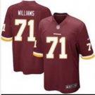 Men's Redskins #24 Trent Williams game jersey red