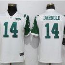 Women's New York Jets #14 Sam Darnold Stitched Football jersey white S-XL