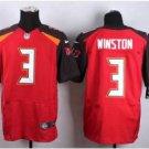 Men's Buccaneers 3# Jameis Winston elite football jersey red