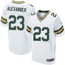 Mens Green Bay Packers Jaire Alexander elite football jersey white