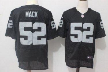 size 40 c29b9 3677b Men's Oakland Raiders #4 Khalil Mack elite Football jersey black