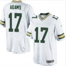 Men's Packers #17 Davante Adams elite football jersey white