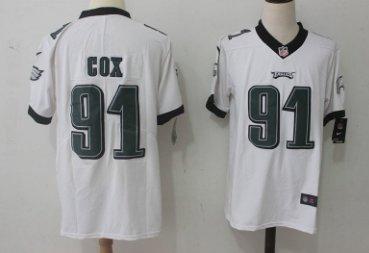 quality design 82292 36a5c Men Philadelphia Eagles #91 Fletcher Cox color rush Limited ...