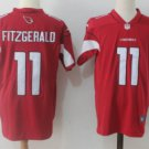 Men's Arizona Cardinals #11 Larry Fitzgerald Color Rush Limited Jersey red