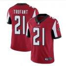 Men's Atlanta Falcons #21 Desmond Trufant color rush Limited jersey red