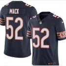 Men's Chicago bears 52 Khalil Mack color rush Limited jersey navy
